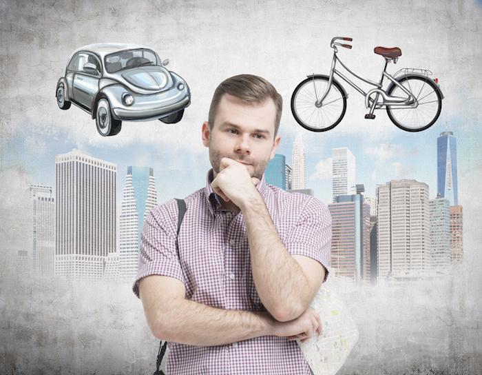 Bicicleta vs Coche